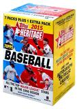 2015 Topps Heritage Baseball 8-Pack Box