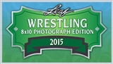 2015 Leaf Wrestling Signed 8x10 Photograph Hobby 10-Box Case