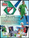 2015 Topps MLS Major League Soccer Hobby Box (Presell)