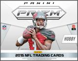 2015 Panini Prizm Football Hobby 12-Box Case (Presell)