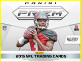 2015 Panini Prizm Football Jumbo 12-Box Case (Presell)