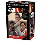 Star Wars: The Force Awakens Series 1 10-Pack Box (Topps 2015) (One Medallion Card Per Box!)