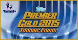 2015 Topps English Premier League Gold Soccer Hobby 6-Box Case