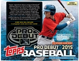2015 Topps Pro Debut Baseball Hobby 12-Box Case (Presell)