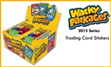 Wacky Packages Trading Cards Stickers 8-Box Case (Topps 2015) (Presell)