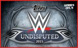 2015 Topps WWE Undisputed Wrestling Hobby 8-Box Case (Presell)