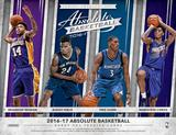 2016/17 Panini Absolute Basketball Hobby 10-Box Case (Presell)