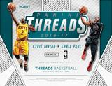 2016/17 Panini Threads Basketball Hobby 20-Box Case (PLUS 40 Panini Day Packs!) (Presell)