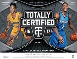 2016/17 Panini Totally Certified Basketball Hobby Box (Presell)