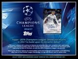 2016/17 Topps UEFA Champions League Showcase Soccer Hobby 8-Box Case (Presell)