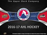 2016/17 Upper Deck AHL Hockey Hobby 20-Box Case (Presell)