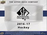 Image for 2016/17 Upper Deck SP Authentic Hockey Hobby 8-Box Case- DACW Live 30 Spot Random Team Break #1