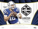 2016 Panini Limited Football Hobby 15-Box Case (Presell)