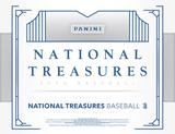2016 Panini National Treasures Baseball Hobby 4-Box Case (Presell)