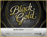 2016 Panini Black Gold Collegiate Hobby 8-Box Case (Presell)