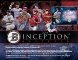 2016 Bowman Inception Baseball Hobby 8-Box Case (Presell)