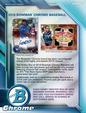 2016 Bowman Chrome Baseball Hobby Box (Presell)