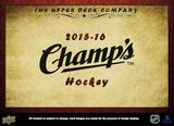 2015/16 Upper Deck Champ's Hockey Hobby 10-Box Case (Presell)