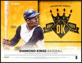 2016 Panini Diamond Kings Baseball Hobby 12-Box Case (Presell)