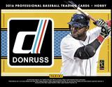 2016 Panini Donruss Baseball Hobby 16-Box Case (Presell)
