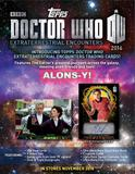 Doctor Who: Extraterrestrial Encounters Hobby Box (Topps 2016) (Presell)