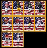 2016 Leaf Draft All-American Football Gold Parallel Set (10 Cards) (Only 25 Sets Produced!)
