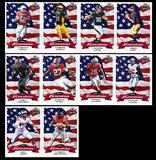 2016 Leaf Draft All-American Football Base Set (10 Cards) (Only 100 Sets Produced!)