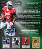 2016 Leaf Metal Football Hobby 15-Box Case (Presell)