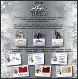 2016 Leaf Trinity Football Hobby 12-Box Case (Presell)