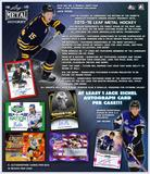 2015/16 Leaf Metal Draft Hockey Hobby Box (Presell)