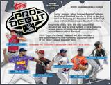 2016 Topps Pro Debut Baseball Hobby 12-Box Case (Presell)
