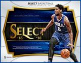 2015/16 Panini Select Basketball Hobby 12-Box Case (Presell)