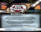2016 Topps Chrome Baseball Hobby Jumbo 8-Box Case (Presell)