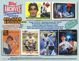 2016 Topps Archives Signature Series Baseball Hobby 20-Box Case (Presell)