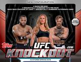 2016 Topps UFC Knockout Hobby 12-Box Case (Presell)