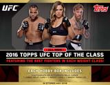 2016 Topps UFC Top of the Class Hobby 16-Box Case (Presell)