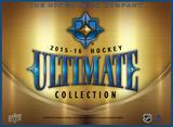 2015/16 Upper Deck Ultimate Collection Hockey Hobby 5-Box Case (Presell)