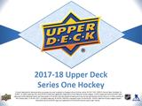 2017/18 Upper Deck Series 1 Hockey Hobby 12-Box Case (Presell)
