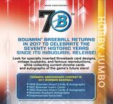 2017 Bowman Baseball Jumbo 8-Box Case- DACW Live 30 Random Team Break #2