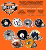 2017 Leaf Autographed Mini-Helmet Football Hobby Box (Presell)