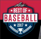 2017 Leaf Best Of Baseball Hobby 5-Box Case (Presell)