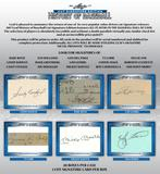 2017 Leaf Cut Signature Edition History of Baseball Hobby 20-Box Case (Presell)