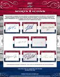 2017 Leaf Sports Icons Cut Signature Edition Baseball Hobby Box (Presell)