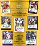 2017 Leaf Ultimate Football Hobby 12-Box Case (Presell)