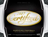 2017 Panini Certified Football Hobby 12-Box Case (Presell)