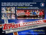 2017 Topps Factory Set Baseball Hobby (Box) Case (12 Sets) (Presell)