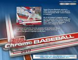 2017 Topps Chrome Baseball Hobby Jumbo 8-Box Case (Presell)