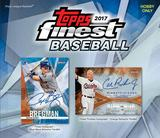 2017 Topps Finest Baseball Hobby 8-Box Case (Presell)
