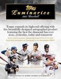 2017 Topps Luminaries Baseball Hobby Box (Presell)