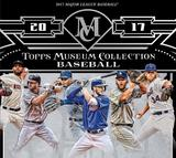 2017 Topps Museum Collection Baseball Hobby Box (Presell)